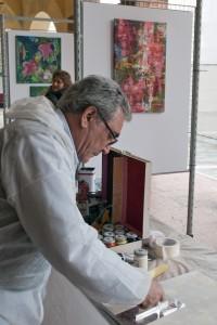 performance pittorica Pizzighettone