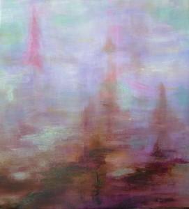 acrilico/olio su tela 20 x20 febbraio 2014