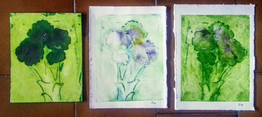 broccoli stampa matrice 1