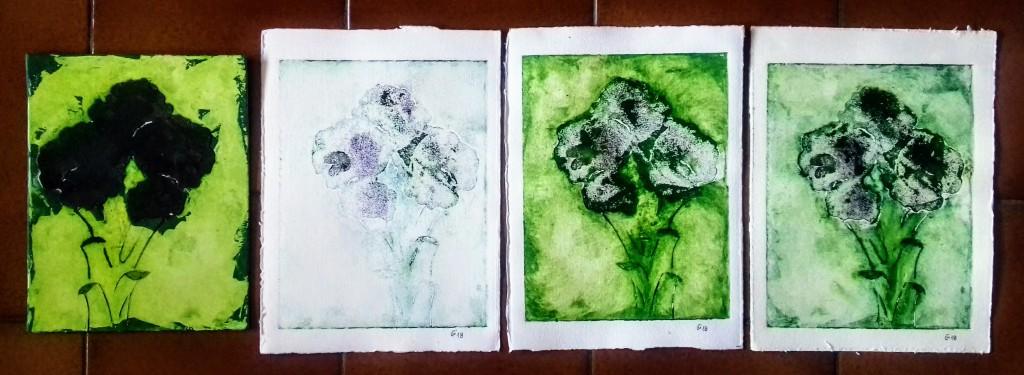 broccoli stampa matrice 2